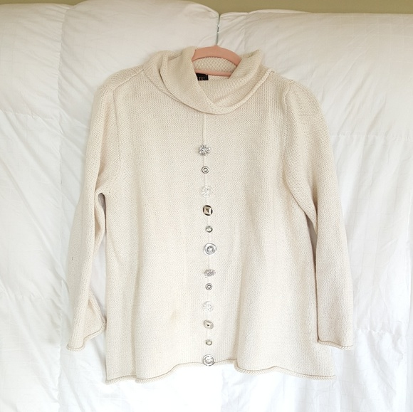 PURE Sweaters - PURE Hand knit Sweater.  Sz S